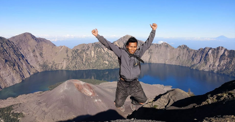 summit rinjani Lombok
